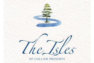 The Isles of Collier Preserve Logo | Woods & Wetlands