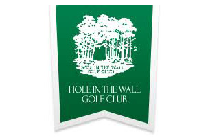 Hole in the Wall Golf Club Logo | Woods & Wetlands